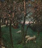 Olive Garden on Gardesee - Hans Thoma 1892