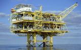 Oil Rig off Louisiana coast