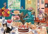 Feline Frenzy by Steve Read...