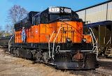 Diesel Locomotive Train Milwaukee Railroad #532 EMD SD10