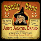 Halloween Candy Corn Ad