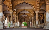 Agra Fort in Agra. Uttar Pradesh. India