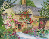 ^ Cotswolds Cottage ~ Marilyn McMurray