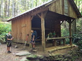 Mile 0402 Mountaineer Falls Shelter