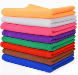 ^ Colorful towels