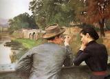 Emile Friant, Les Amoureux, 1888