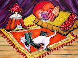 Cat nap bright