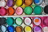 Rainbow Paints @ Pixabay...
