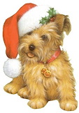 Terrier Merry Christmas