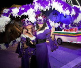 Purple Umbrella Parade
