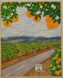 Pomona Orange Grove Quilt