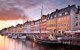 Nyhavn Canal in Copenhagen.Denmark