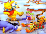 Winnie the pooh Ice party!