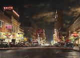 city-dallas-tx-elm-street-at-night-1941-mike-savad