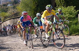 Tour de Romandie 2008 - Albasini in Yellow