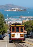 San Francisco - Cable Car No. 1, and Alcatraz Island