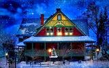 Snow-winter-house
