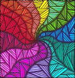 Zentangle Art Abstract