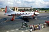 American Airlines Convair 240 at Port Columbus Ohio late 1940s