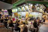 Temple Street Market Hong Kong night