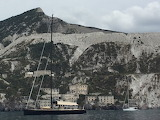 sailing around Lipari island