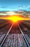 Sundown On The Tracks