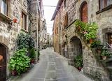 Vitorchiano, a medieval village