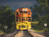 Train Locomotive 3435