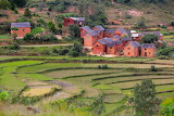 Village in the heart of Madagascar