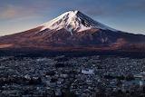 Sunrise Mount Fuiji Japan