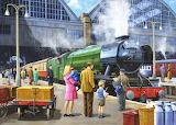 Flying Scotsman at Kings Cross - Kevin Walsh