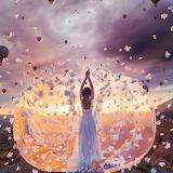 Fantasy-flower storm