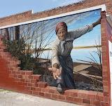 Harriet Tubman Mural by Michael Rosato