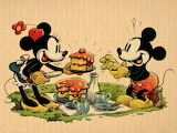 Mickey and  Minnie Picnic