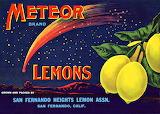 """Lemons """"Meteor"""" Brand"""