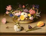 Still Life of Flowers, 1614