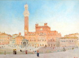 Palazzo Pubblico, Sienna by Harry Goodwin