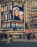 Martin and Lewis 1952 NYC Marquee