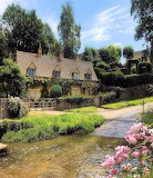 ^ Upper Slaughter in the beautiful Cotswolds, England