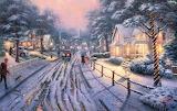 Thomas Kinkade-Winter