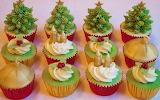 #Classy Christmas Cupcakes