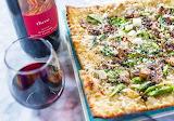 Flatbread Pizza and Wine