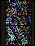 Last Judgement Window, Saint Patrick's Catholic Church, Newport,