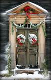 ^ Christmas door