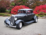 1934 Ford Deluxe 5 Window Coupe