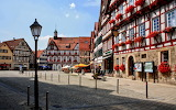 Town of Bad Urach Germany