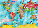 World map..........................................x