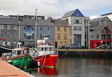 Boats in Galway Harbour