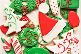 #Red & Green Christmas Cookies