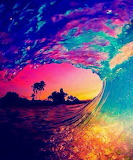 Psychedelic wave